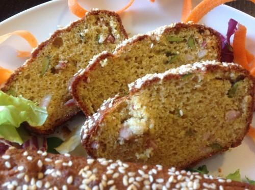 plumcake con farina di farro